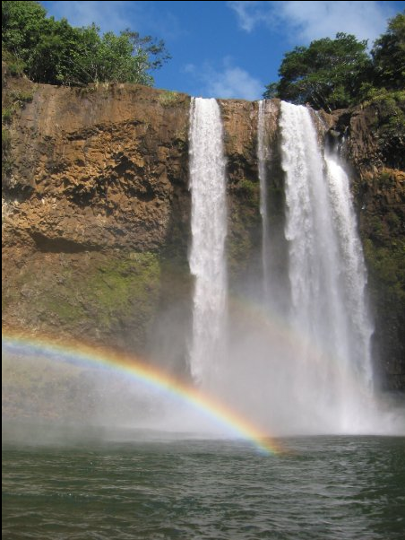 copyright Justin Zern waterfalls rainbows