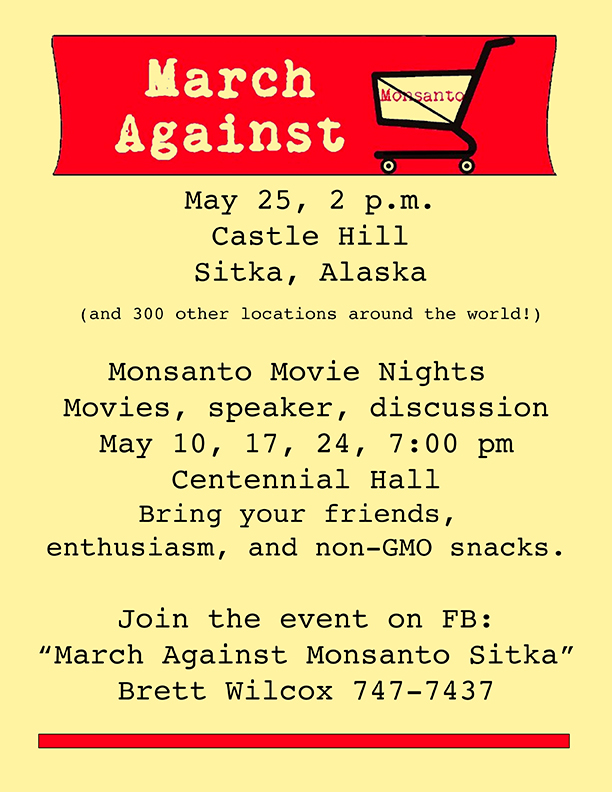 March Against Monsanto Yellow 72