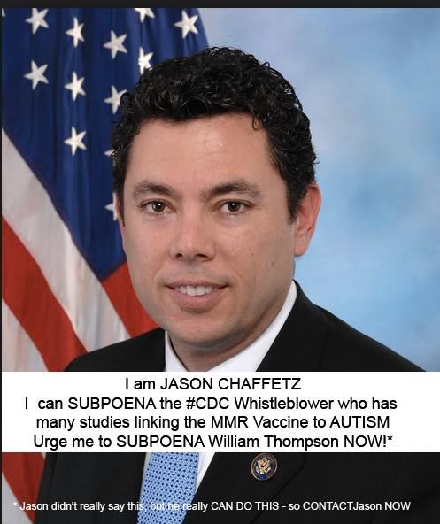 Jason Chaffetz Subpoena William Thompson